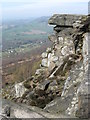 SK2575 : Froggatt Edge, Derbyshire by Dave Pickersgill
