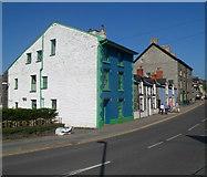 SH7400 : Heol Pentrerhedyn houses, Machynlleth by Jaggery