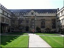 SP5106 : Quadrangle, Jesus College, Turl Street, Oxford by Robin Sones