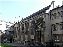 SP5106 : Exeter College, Turl Street, Oxford by Robin Sones