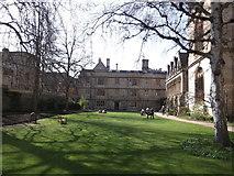 SP5106 : Fellows Garden, Exeter College, Turl Street, Oxford by Robin Sones