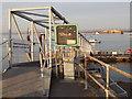 SU6800 : Pontoon, Portsmouth by Colin Smith