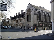 SP5106 : Pusey House, St Cross College, St Giles', Oxford by Robin Sones