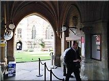 SP5106 : Porters Lodge, Balliol College, Broad Street, Oxford by Robin Sones