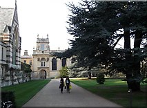 SP5106 : Trinity College, Broad Street, Oxford by Robin Sones
