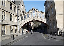 SP5106 : Catte Street/New College Lane junction, Oxford by Robin Sones