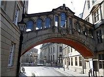 SP5106 : Hertford Bridge, New College Lane, Oxford by Robin Sones