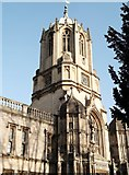 SP5105 : Tower of Christ Church College, St Aldate's, Oxford by Robin Sones