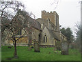 SP9019 : St Mary the Virgin, Mentmore, from the East by Chris Reynolds