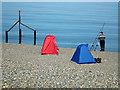 TG1143 : Fishing at Weybourne Hope by John Lucas