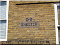 TQ3279 : D2 Shelter by Stephen Craven