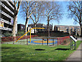TQ3279 : Play area in Guy Street Park by Stephen Craven