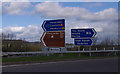 SD5170 : M6 Junction 35 by Ian Taylor
