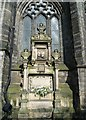 NS6065 : Thomas Hutcheson Memorial, Glasgow Cathedral by kim traynor