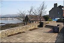 SH5873 : Nat West gardens, Bangor by Bill Boaden