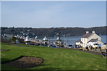 SH5873 : Gardens at the end of the pier by Bill Boaden