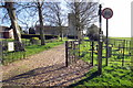SP8034 : Path to St Mary's by Philip Jeffrey