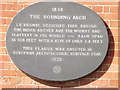 Photo of Isambard Kingdom Brunel and The Sounding Arch stone plaque