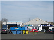 NZ2682 : Vulcan Place Car and Van Hire in Bedlington by peter robinson