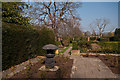 TQ4666 : Formal garden, Priory Gardens by Ian Capper
