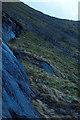 NN0831 : Slabs and boulder strewn slope north of Drochaid Ghlas by Klaas van der Veen
