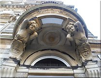 NS5965 : Female caryatids on the Merchants' House, George Square by kim traynor