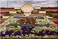 NZ3767 : Flowerbeds by Sea Road in South Shields by Steve Daniels