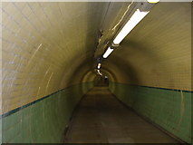 NZ3266 : In the Tyne Cycle Tunnel by JThomas
