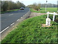 TL2967 : Old Milepost by Keith Evans
