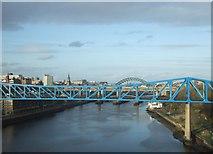 NZ2463 : Queen Elizabeth II Bridge (metro) over the River Tyne by JThomas