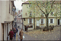 TG2308 : Elm Hill, Norwich by Christopher Hilton