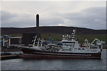 HU4642 : MV Research in Lerwick harbour by Mike Pennington