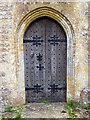 ST5308 : Door, St Mary's Church by Maigheach-gheal