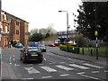TQ1289 : Pinner - Bridge Street looking toward Station Approach by Peter Whatley