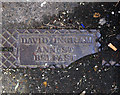 J3373 : Drain cover, Belfast by Rossographer