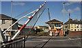 C8532 : Level crossing, Coleraine (8) by Albert Bridge