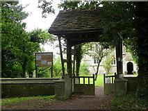 ST9383 : Lych gate, Rodbourne by Maigheach-gheal