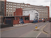 SK5803 : Leicester - Royal Infirmary by David Hallam-Jones