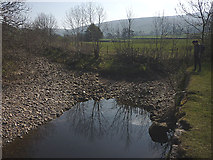 SD7186 : Deepdale Beck 'joins' the River Dee by Karl and Ali