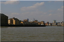 TQ3680 : Riverfront buildings, Rotherhithe by Christopher Hilton