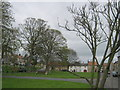 NZ1716 : Eastern end of Gainford Village Green by peter robinson