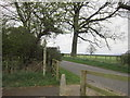 NY4157 : The end of the path near to the Beeches by Ian S