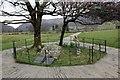 SH5947 : Gelert's Grave, Beddgelert by Jeff Buck
