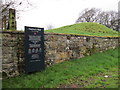 NY5264 : Hadrian's Wall at Dovecote Bridge by Ian S