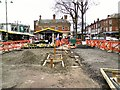 SJ9494 : Hyde Market on Easter Saturday by Gerald England
