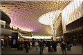 TQ3083 : King's Cross, new western concourse by Richard Croft