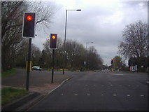TQ4667 : Cray Avenue at the junction of Poverest Road by David Howard