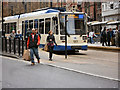 SK3587 : The Cathedral Tram Stop by David Dixon