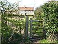 TF7217 : Wizard Cottage south of Gayton by Richard Humphrey
