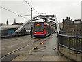 SK3587 : Supertram Crossing Sheffield Parkway by David Dixon